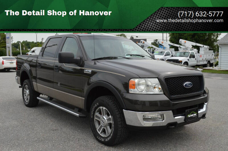 2005 Ford F-150 for sale at The Detail Shop of Hanover in New Oxford PA