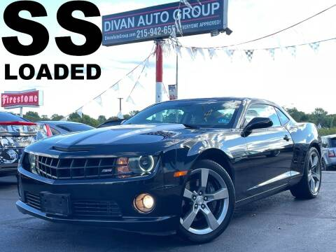 2010 Chevrolet Camaro for sale at Divan Auto Group in Feasterville Trevose PA