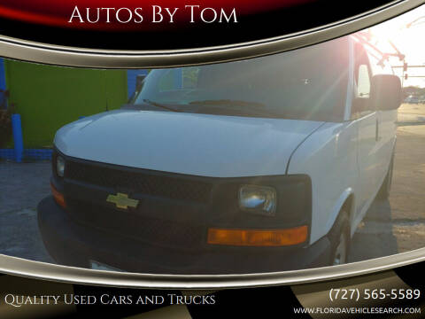 2013 Chevrolet Express Cargo for sale at Autos by Tom in Largo FL