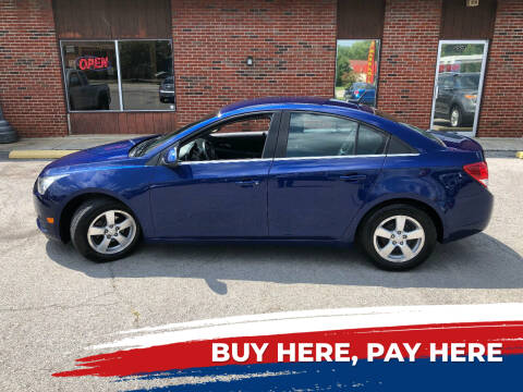 2013 Chevrolet Cruze for sale at Atlas Cars Inc. in Radcliff KY