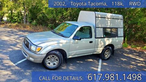 2002 Toyota Tacoma for sale at Wheeler Dealer Inc. in Acton MA