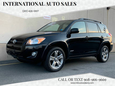 2010 Toyota RAV4 for sale at International Auto Sales in Hasbrouck Heights NJ