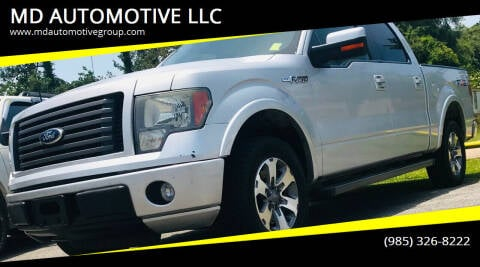 2010 Ford F-150 for sale at MD AUTOMOTIVE LLC in Slidell LA
