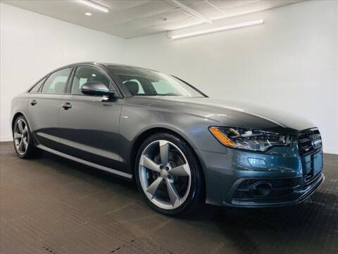 2015 Audi A6 for sale at Champagne Motor Car Company in Willimantic CT