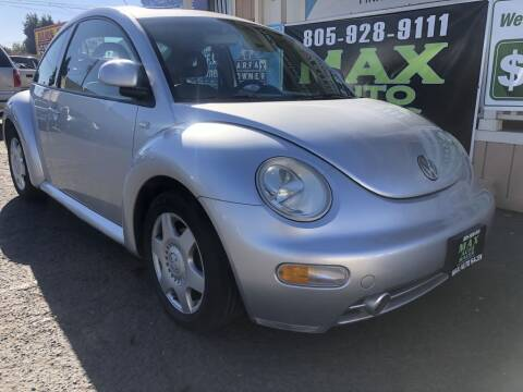 2000 Volkswagen New Beetle for sale at Max Auto Sales in Santa Maria CA