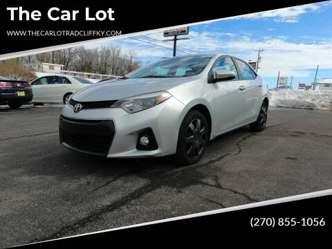 2015 Toyota Corolla for sale at The Car Lot in Radcliff KY