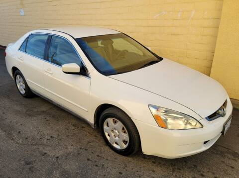 2005 Honda Accord for sale at Cars To Go in Sacramento CA