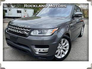 2017 Land Rover Range Rover Sport for sale at Rockland Automall - Rockland Motors in West Nyack NY