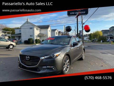 2018 Mazda MAZDA3 for sale at Passariello's Auto Sales LLC in Old Forge PA