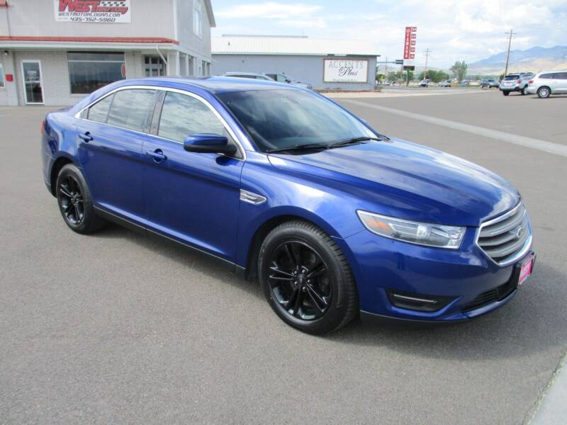 2015 Ford Taurus for sale at West Motor Company in Hyde Park UT