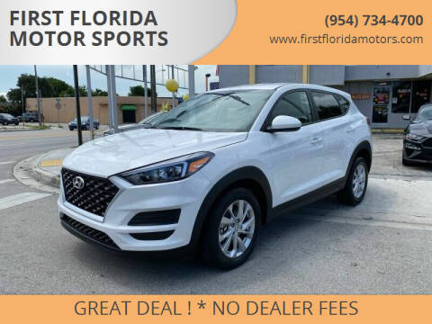 2019 Hyundai Tucson for sale at FIRST FLORIDA MOTOR SPORTS in Pompano Beach FL