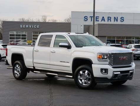 2016 GMC Sierra 2500HD for sale at Stearns Ford in Burlington NC