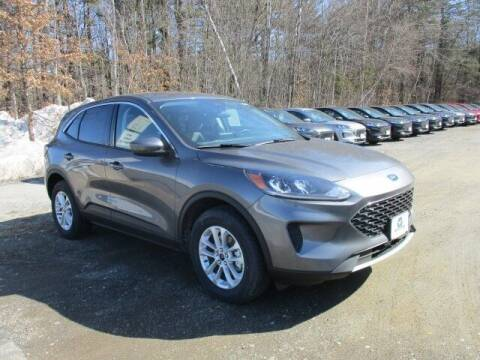2021 Ford Escape for sale at MC FARLAND FORD in Exeter NH