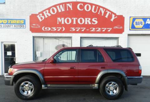 2000 Toyota 4Runner for sale at Brown County Motors in Russellville OH