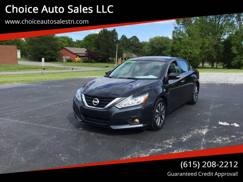 2017 Nissan Altima for sale at Choice Auto Sales LLC - Cash Inventory in White House TN