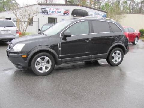 2012 Chevrolet Captiva Sport for sale at Pure 1 Auto in New Bern NC