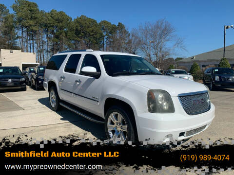 2011 GMC Yukon XL for sale at Smithfield Auto Center LLC in Smithfield NC