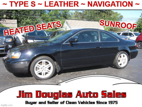 2003 Acura CL for sale at Jim Douglas Auto Sales in Pontiac MI