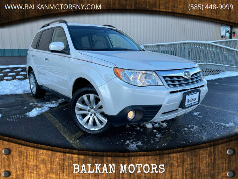 2011 Subaru Forester for sale at BALKAN MOTORS in East Rochester NY