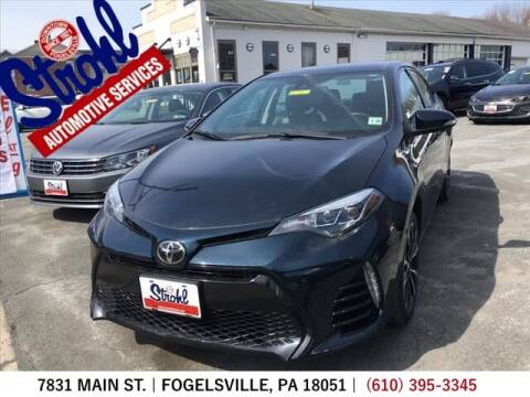 2017 Toyota Corolla for sale at Strohl Automotive Services in Fogelsville PA
