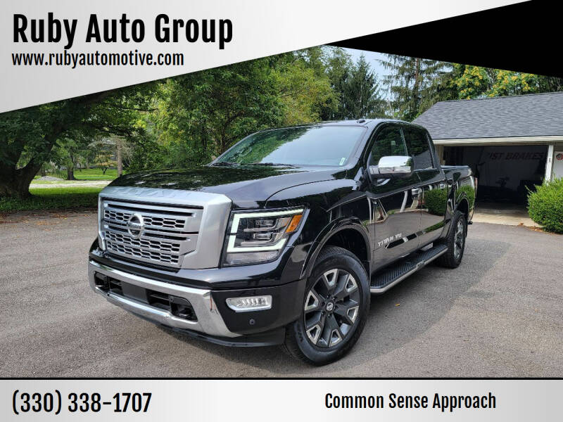 2020 Nissan Titan for sale at Ruby Auto Group in Hudson OH