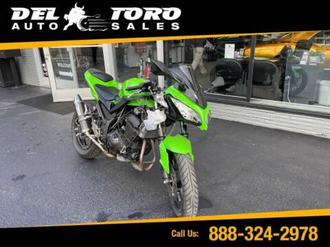 2013 Kawasaki Ninja for sale at DEL TORO AUTO SALES in Auburn WA