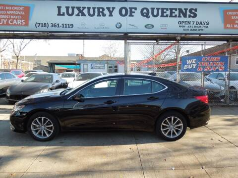 2018 Acura TLX for sale at LUXURY OF QUEENS,INC in Long Island City NY