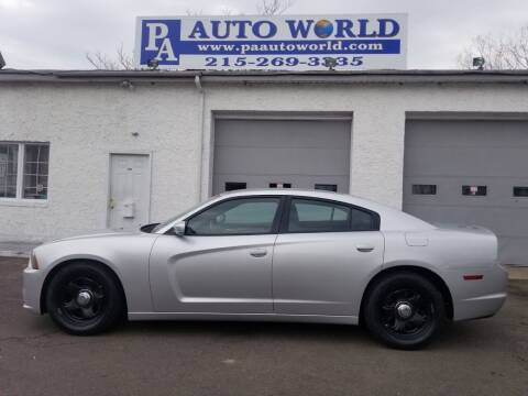 2012 Dodge Charger for sale at PA Auto World in Levittown PA