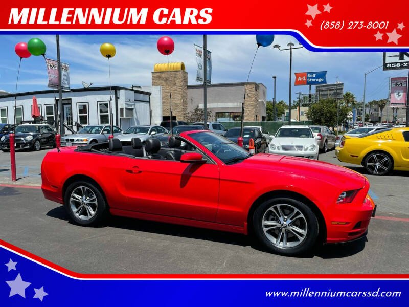 2013 Ford Mustang for sale at MILLENNIUM CARS in San Diego CA