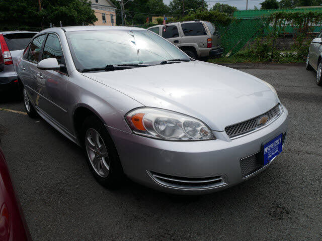 2013 Chevrolet Impala for sale at MICHAEL ANTHONY AUTO SALES in Plainfield NJ