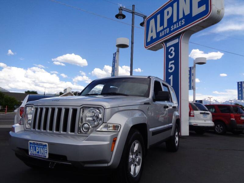 2012 Jeep Liberty for sale at Alpine Auto Sales in Salt Lake City UT