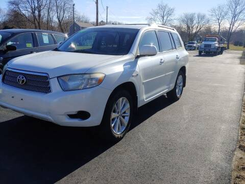 2008 Toyota Highlander Hybrid for sale at Wayside Auto Sales in Seekonk MA