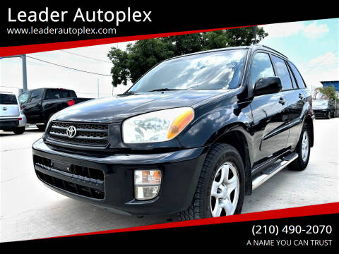 2002 Toyota RAV4 for sale at Leader Autoplex in San Antonio TX
