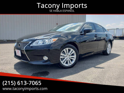 2015 Lexus ES 350 for sale at Tacony Imports in Philadelphia PA