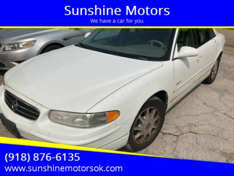 1999 Buick Regal for sale at Sunshine Motors in Bartlesville OK