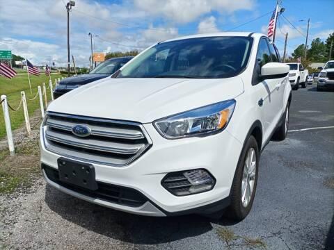 2019 Ford Escape for sale at Sun Coast City Auto Sales in Mobile AL