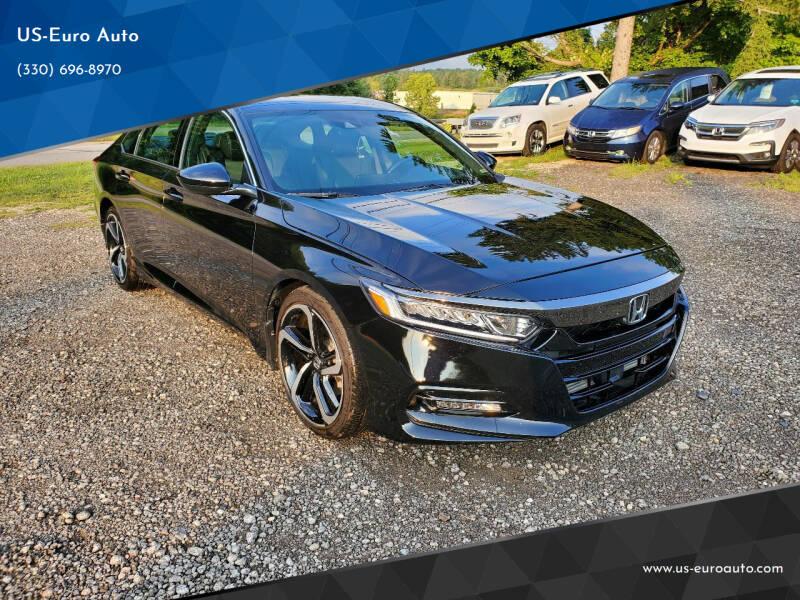 2019 Honda Accord for sale at US-Euro Auto in Burton OH