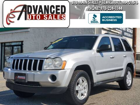 2007 Jeep Grand Cherokee for sale at Advanced Auto Sales in Tewksbury MA