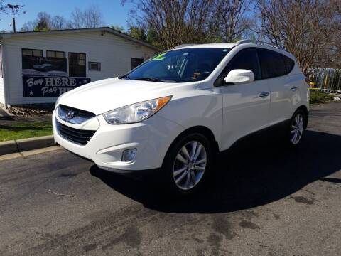 2010 Hyundai Tucson for sale at TR MOTORS in Gastonia NC