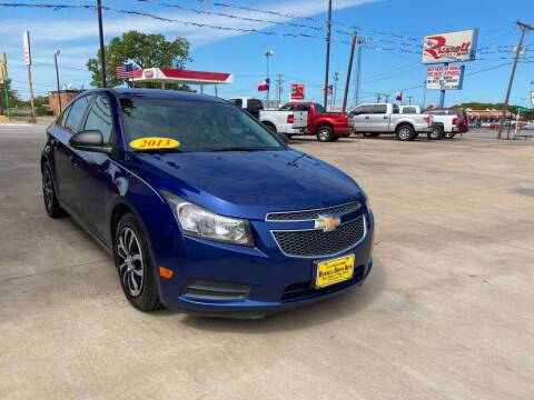 2013 Chevrolet Cruze for sale at Russell Smith Auto in Fort Worth TX