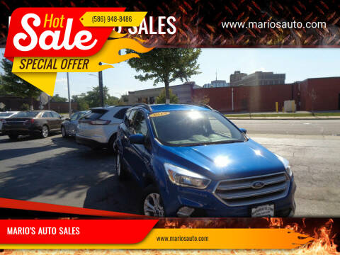 2018 Ford Escape for sale at MARIO'S AUTO SALES in Mount Clemens MI