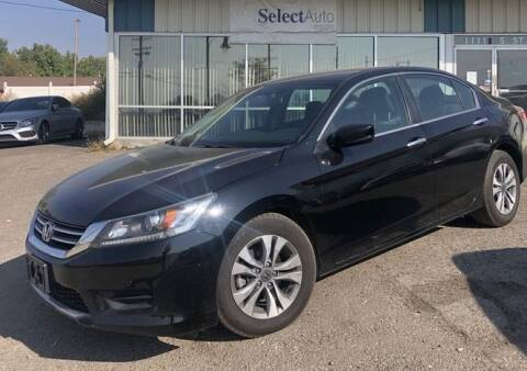2015 Honda Accord for sale at Select Auto Imports in Provo UT