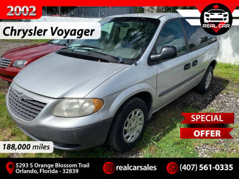 2002 Chrysler Voyager for sale at Real Car Sales in Orlando FL