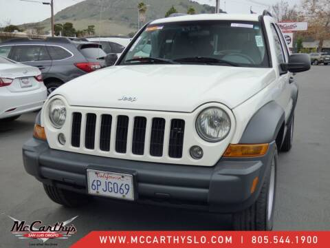 2007 Jeep Liberty for sale at McCarthy Wholesale in San Luis Obispo CA