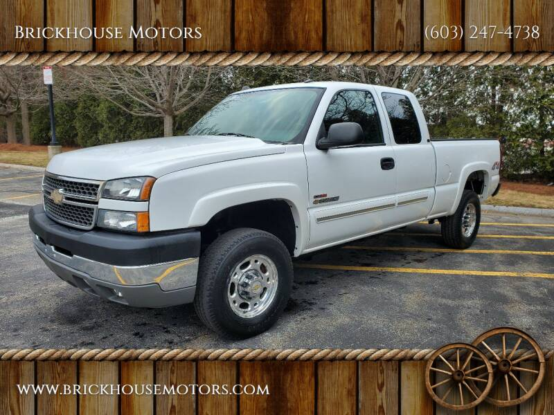 2005 Chevrolet Silverado 2500HD for sale at Brickhouse Motors in Brentwood NH