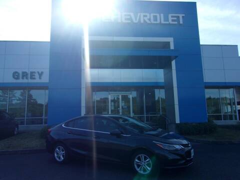 2017 Chevrolet Cruze for sale at Grey Chevrolet, Inc. in Port Orchard WA