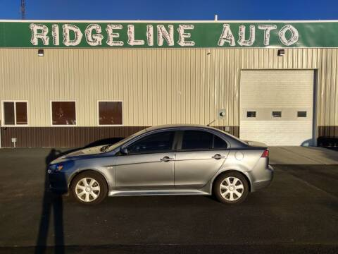 2014 Mitsubishi Lancer for sale at RIDGELINE AUTO in Chubbuck ID