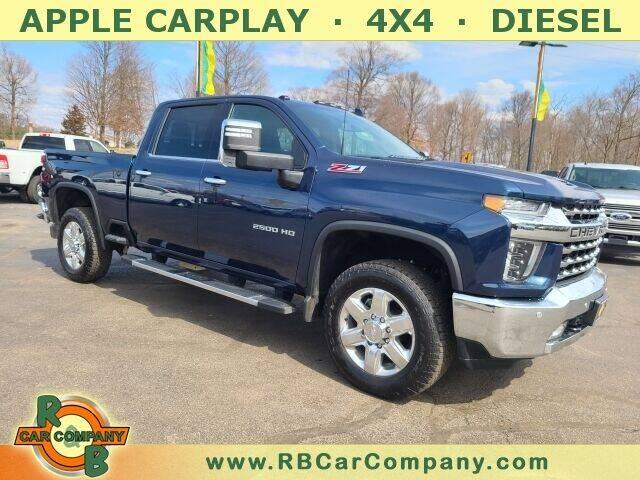 2020 Chevrolet Silverado 2500HD for sale at R & B CAR CO - R&B CAR COMPANY in Columbia City IN