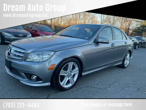 2010 Mercedes-Benz C-Class for sale at Dream Auto Group in Dumfries VA