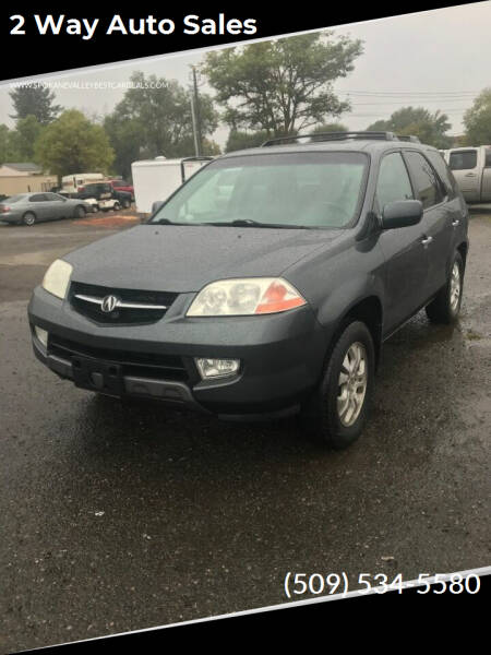 2003 Acura MDX for sale at 2 Way Auto Sales in Spokane Valley WA